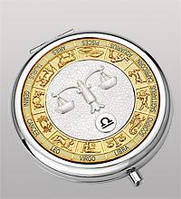 Зеркальце карманное Весы WIN- 02-4