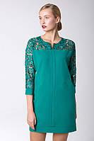 Платье с карманами FORS зеленое