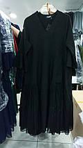 Турецкое платье Cadrelli большого размера 52- 64рр черный, фото 3