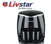 Электрическая Кофеварка на 2 Чашки Livstar 1190