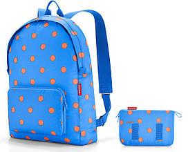 Стильный складной рюкзак 14 л Reisenthel AP 4058, синий