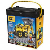 Игровой набор-конструктор Machine Maker самосвал и башня-погрузчик CAT, Toy State