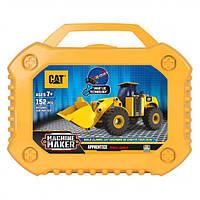 Конструктор Machine Maker погрузчик CAT, Toy State