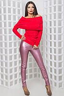 Женская стильная кофта-хомут Джесси (42-44) 2 цвета
