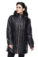 Женская куртка Луиза черный (52-64)