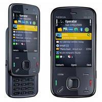 Корпус ААА Nokia N86 (чёрный)+русская клавиатура