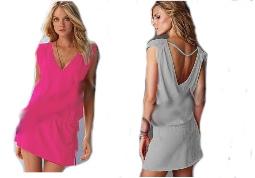 Платье-туника женское пляжное modastar 1512
