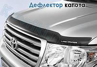 Дефлектор капота (мухобойка) Peugeot Boxer(2014-)(с заходом на фары)
