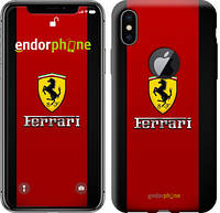 "Чехол на iPhone X Ferrari ""1202c-1050-8079"""