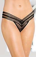 Женские трусики - Thongs 2439, черные