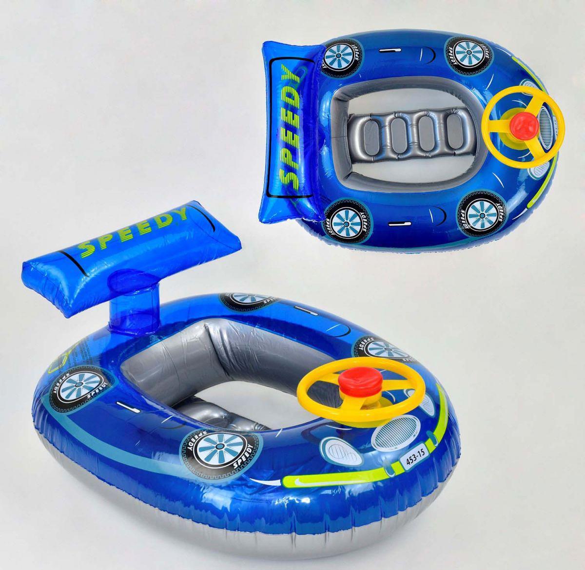 Детский надувной круг - плотик Машина, F21531