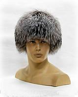 Ушанка шапка мужская из чернобурки