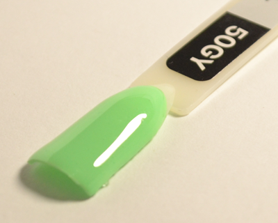 Гель лак Коди 50GY Зеленые и желтые оттенки, 8ml