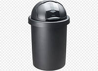 Круглое ведро для мусора Bin Roll 30 литров от Rotho