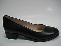 Кожаные туфли на небольшом каблучке ТМ Ross, фото 1