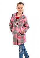 Пальто для девочки с кашемира
