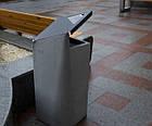 Уличная урна для мусора бетонная URBAN1, фото 4