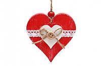 Новогодние украшения Сердце 8см