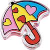 Блиск для губ LG-14 парасолька FFleur