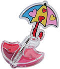 Блеск для губ FFleur парасолька Parasol LG14, фото 2