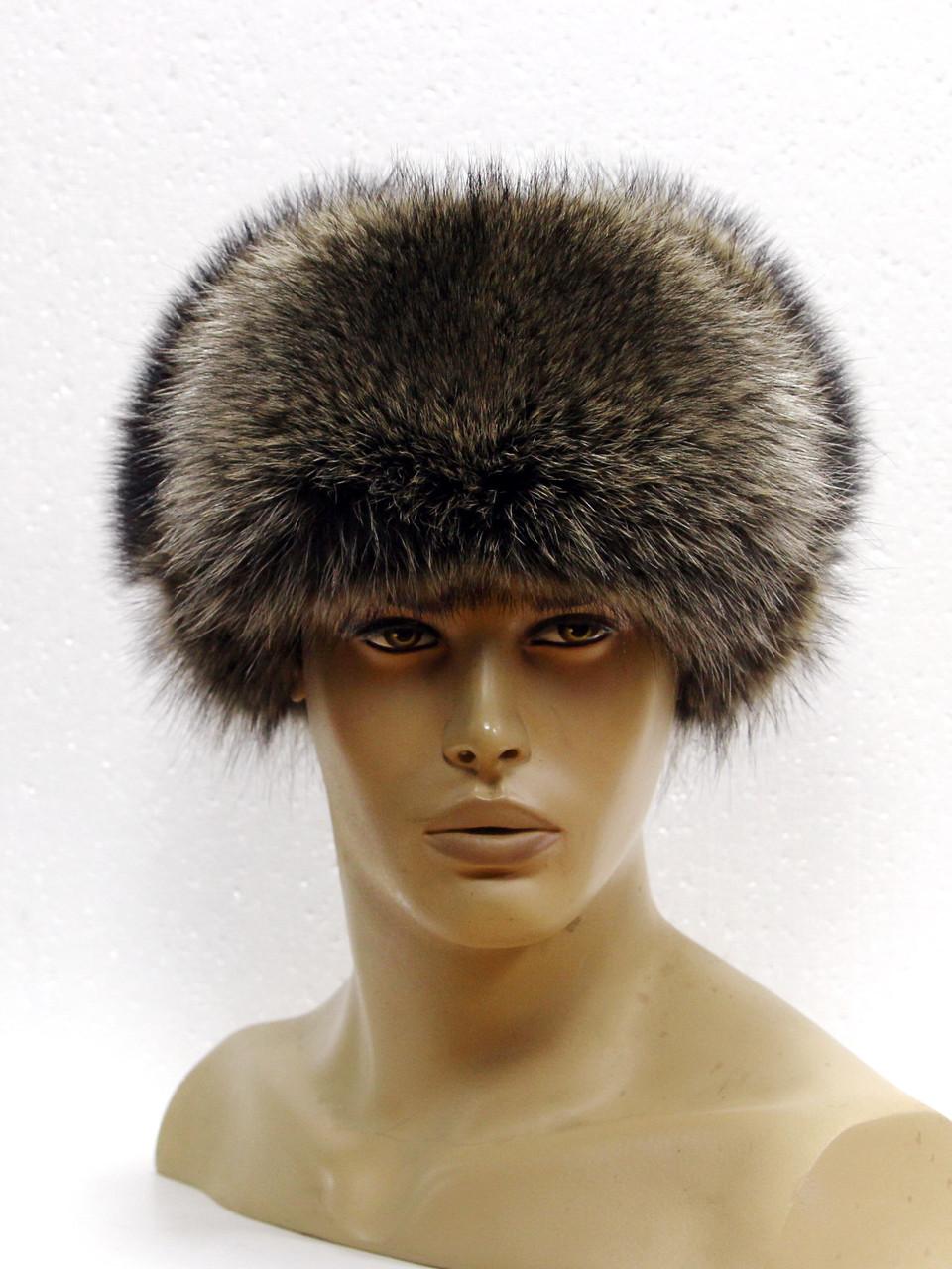 Меховая шапка ушанка мужская из Енота(нат) - Меховые шапки 658cd259aa357