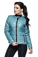 Демисезонная куртка Марта голубой (42-54) 48