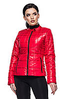 Демисезонная куртка Марта красный (42-54) 48