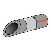 Труба поліпропілен штабированная 20 Koer pn - 20