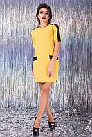 Короткое вечернее платье со стразами Rubi 42–44р. в расцветках