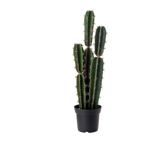 """ИКЕА """"ФЕЙКА"""" Искусственное растение в горшке, кактус"""