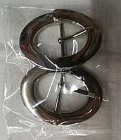 Пряжка декоративная металлическая 7х5см