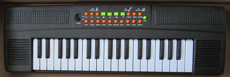 Пианино-синтезатор SK 3733 (работает от батареек или от сети)