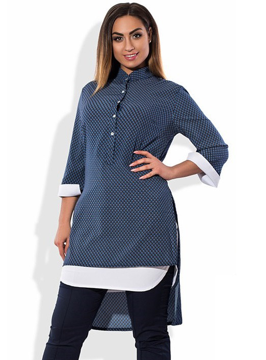 Рубашка-фрак размеры от XL 3038