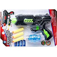 Пістолет з паралон. і водяними кулями (планшет) М02+ р.18,8*28,8*4см