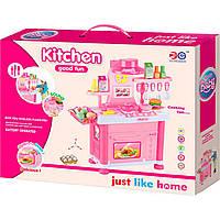 Кухня муз.свет. (арт. 6825-B), (12шт/0), пластик, Цветная коробка, 55x42.8x11.5см, JAMBO, 200031266