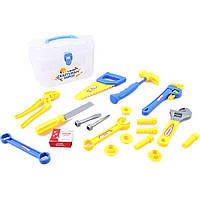 Набор инструментов (арт. 6401-2), (72шт/2), пластик, Пластиковая коробка, 22.5x12x14см, JAMBO, 101038508