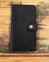 Кожаный мужской кошелек, клатч (Ручная работа). Портмоне из натуральной кожи.
