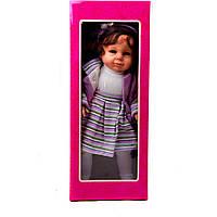 Кукла M 1527 (12шт) Amalia, звук (русс,англ), 53 см, микс видов, в кор-ке, 54,5-22-14см