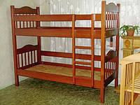 """Двухъярусная кровать трансформер """"Ниагара"""" (массив - сосна, ольха, береза)."""