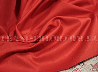 Костюмная ткань коттон мемори красный