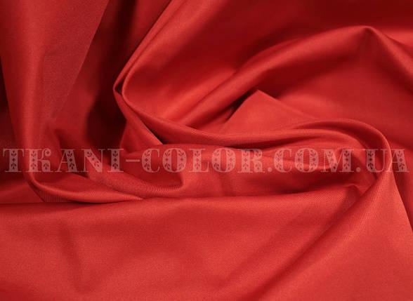 Костюмная ткань коттон мемори красный, фото 2