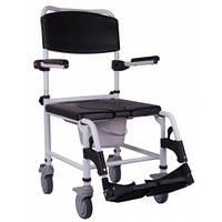 Кресло-каталка для душа и туалета «WAVE» OSD-NA-WAVE, Стул-туалет для инвалидов