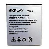 Оригинальный аккумулятор (батарея) Explay Vega