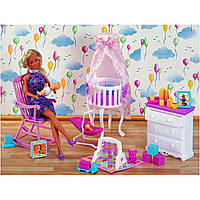 Мебель для детской (арт. 9929), (36шт/0), пластик, Цветная коробка, 1x1x1см, JAMBO, 200118315