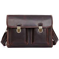 Кожаный прочный портфель