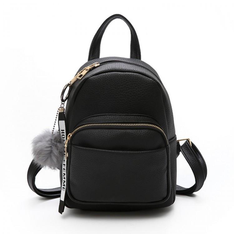 Рюкзак женский Bobby черный
