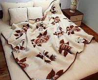 """Одеяло-плед из овечьей шерсти """"Eluna"""" (полутороспальное), фото 1"""
