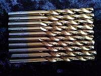 Сверло по металлу с титановым напылением диаметр 5,2