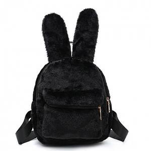 Рюкзак женский Bobby Bunny, черный