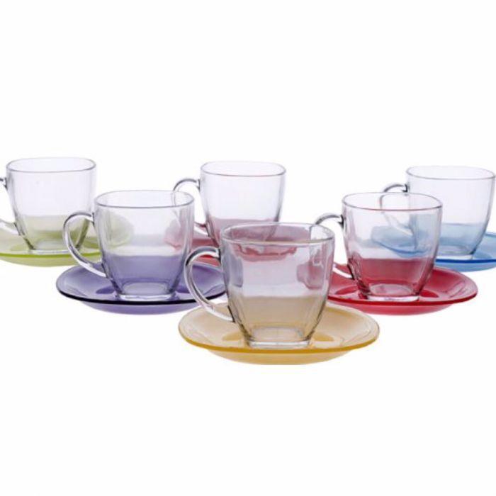 Сервіз чайний на 6 персон CARINA RAINBOW